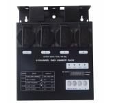 EURO DJ Dimmer Pack 4 компактный диммерный блок, идеально подходит для установки на штанкеты и софит