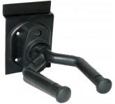 DADI GH-06A крюк гитарный на стену или эконом-панель, короткий, черный.