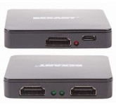REXANT [17-6951] разветвитель HDMI 1x2, 19F/2x19F, пластиковый корпус.