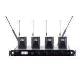 SHURE ULXD14QE/LC P51 четырехканальная цифровая радиосистема с поясными передатчиками (без соедините
