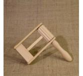 Мастерская Сереброва трещотка круговая БР-ТР-01, размеры: 165х35х85 мм., цвет: натуральный.