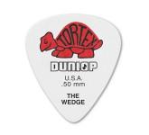 Dunlop 424P.50 Tortex Wedge медиаторы, толщина 0,50мм