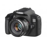 CANON EOS 2000D kit ( 18-55mm f/3.5-5.6 III), зеркальный фотоаппарат, черный