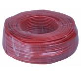 SUPERLUX SFI100/RD, 6 мм, 25х0.12 mm кабель инструментальный, цвет красный WH0SFI1000400
