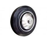 IRONWEEL C46 диам 100 мм промышленное колесо без кронштейна чёрная резина
