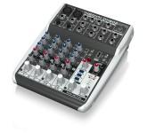 BEHRINGER QX602MP3 микшерный пульт, 6 каналов, 2 микрофонных предусилителя XENYX, USB МР3 плеер, British EQ, Multi FX