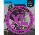 D`ADDARIO ESXL-120 струны для электрогитары Steinberger, Super Light, шарик на 2 концах, никель, 9-4
