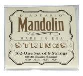 D`ADDARIO J62  струны для мандолины 6G002, D`ADDARIO J62  струны для мандолины 6G002