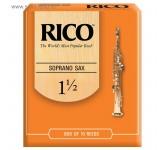Rico RIA1015 (1 1/2)  трости для саксофона сопрано  (10шт.в пачке) 2V-002
