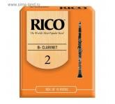 Rico RICO (2) (RCA1020)  трости для кларнета Bb (10шт.в пачке)