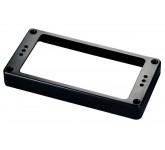 Schaller 126  рамка для хамбакера 12,7 мм, прямая, черная (пластик)