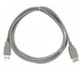 Vcom USB2, 0 - AmAf 1,8 м кабель удлинительный