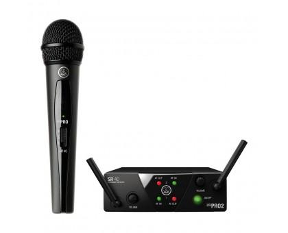 AKG WMS40 Mini Vocal Set Band US45B (661.100) вокальная радиосистема с ручным передатчиком и капсюле