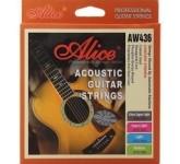 Alice AW436P-XL комплект струн для акустической гитары, фосфорная бронза, 10-47 AW436P-XL