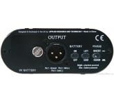 "ART X-Direct активный директ-бокс, вход-XLR, 1/4"" TRS( unbal), выход- XLR (bal. ), 9V батарея HF007"