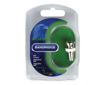"BANDRIDGE BVP981 переход BNC ""шт""-RCA ""гн"" металл (PRE-4-510) BVP981"
