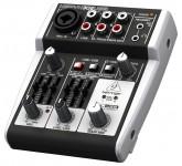 Behringer 302USB микшерный пульт, 5-вход, микрофонный предусилитель, USB/аудио интерфейс 443585