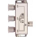 Belsis BW1603 разветвитель (сплиттер) высокочастотный (5-1000 МГц) для F-разъема на 3 направления BW