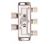 Belsis BW1604 разветвитель (сплиттер) высокочастотный (5-1000 МГц) для F-разъема на 4 направления BW