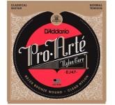 D`Addario EJ47 PRO ARTE Normal Tension струны для классической гитары нейлоновые, нормального натяже