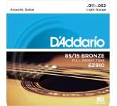 D`ADDARIO EZ-910 струны для акуст. гитары, бронза 85/15, Light 11-50 81088