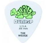 Dunlop 424R.88 медиаторы Tortex Wedge ( в уп 72 шт ) толщина 0.88 мм T9033