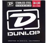 Dunlop DBN45105 струны для бас-гитары 45-105, никель NN06A