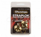 Dunlop SLS1032BR крепление для гитарного ремня Straplock (пара), латунь. NY002