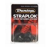 Dunlop SLS1033BK  крепление для гитарного ремня Straplock (пара), чёрн. NY003