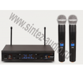 ENBAO MD3200 2 микрофона; диапазон частот: 500-928 МГц, питание передатчика: AA 1.5V*2, частотный ди