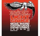 ERNIE BALL 2208 (11-15-22w-30-42-52) Nickel wound струны для электрогитары никелированная стальная н