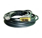 Gembird/Cablexpert HDMI-DVI 10.0м single link, [CC-HDMI-DVI-10MC] кабель