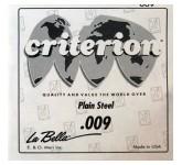 La Bella CPS009 отдельная 1-я струна диаметр 0,009, сталь, США