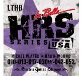 La Bella HRS-LTHB Hard Rockin Steel струны для электро-гитары. 10-13-17-30w-42-52. Верхние струны-ст
