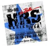 La Bella HRS-MB Hard Rockin Steel комплект струн для электро-гитары. 11-14-18-28w-38-52. Верхние стр