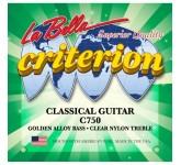 La Bella C750 Criterion комплект струн для классической гитары, нормального натяжения. Верхние струн