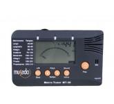 Musedo MT-30 тюнер-метроном универсальный, хроматический, ЖК дисплей, тон генератор, микрофон, вход