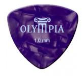 OLYMPIA OPCM-100  медиаторы Celluloid (0, 7; 0, 9; 1, 0; 1, 2; 1, 5 мм), цвет в ассортименте (упаков