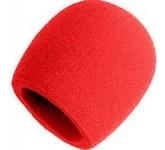 SHURE A58WS-RED поролоновая ветрозащита для микрофона SM58 (красная) A002234, SHURE A58WS-RED пороло