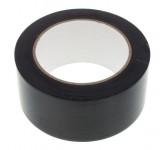 Stairville Dance Floor Tape Black (чёрная) ширина 5 см, длина 33 метра, ПВХ лента в рулоне, использу