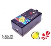 ЯRILO Open DMX USB DMX контроллер совместимый с Freestyler DMX, QLC+ и другими программами. Имеет од